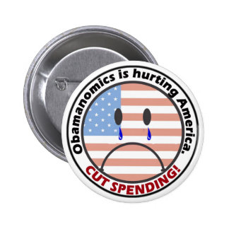 Cut Spending - Listen to the People!! 6 Cm Round Badge