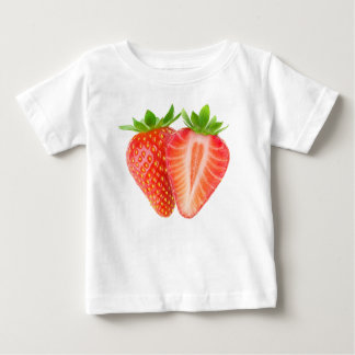 Cut strawberries baby T-Shirt