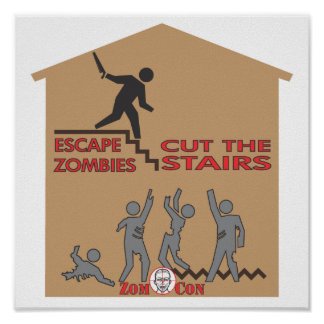 Cut the Stairs! Poster