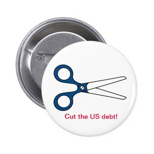 Cut the US debt! button