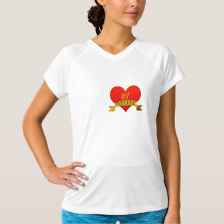 cute #1 mom t-shirt design mother's day gift-idea