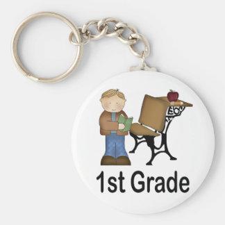 Cute 1st Grade Keychain