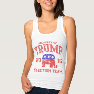 Cute 2016 Donald Trump Election Team Singlet