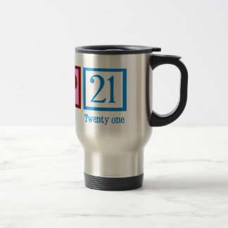 Cute 21st Birthday Travel Mug