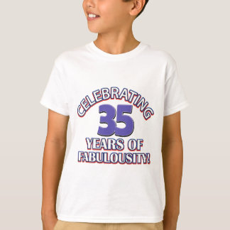 cute 35 year old design T-Shirt