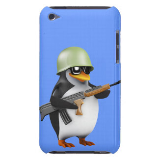 Cute 3d Soldier (editable) Barely There iPod Covers