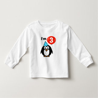Cute 3rd Birthday shirt for three year old toddler