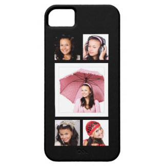 Cute 5 Instagram Photos Collage Barely There iPhone 5 Case