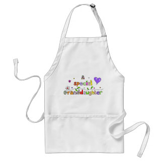 Cute A Special Grand Daughter Text Expression Standard Apron