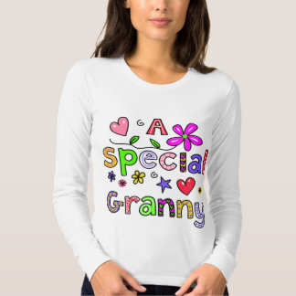 Cute A Special Granny Greeting Text Expression Tshirt