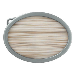 Cute abstract wood lines design belt buckle