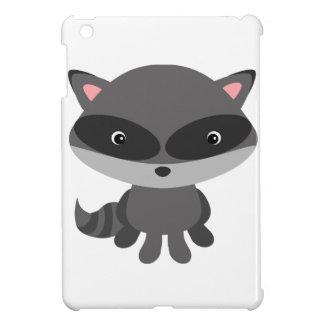 Cute, adorable baby raccoon iPad mini case