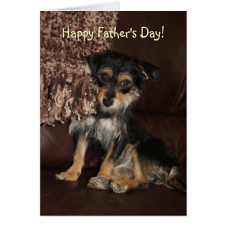 Cute, Adorable Dog Father's Day Card
