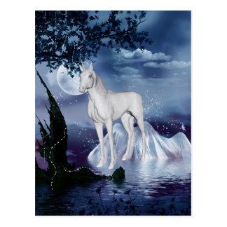Cute Adorable Mystical Unicorn Post Cards