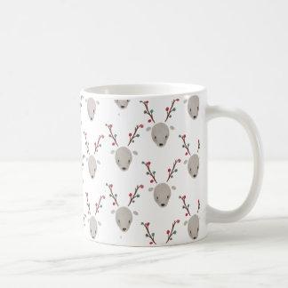 Cute Adorable Watercolor Deer Reindeer Mug Cup