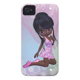 Cute African American Girl Blackberry Case