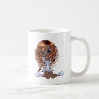 Cute African American Girl Coffee Mug