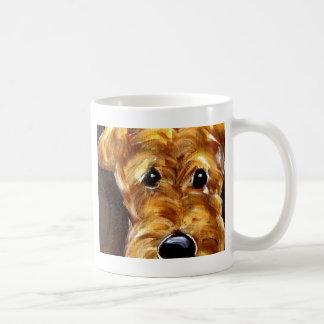 Cute Airedale Art Coffee Mug