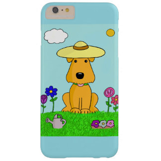 Cute Airedale Dog in Garden iPhone 6/6s Plus Case