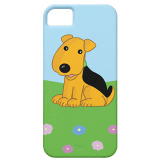 Cute Airedale Dog iPhone SE + iPhone 5/5S Case