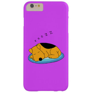 Cute Airedale Snoring Dog iPhone 6/6 Plus Case