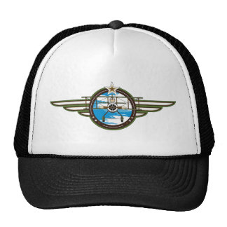 Cute Airforce Pilot and Biplane Cap