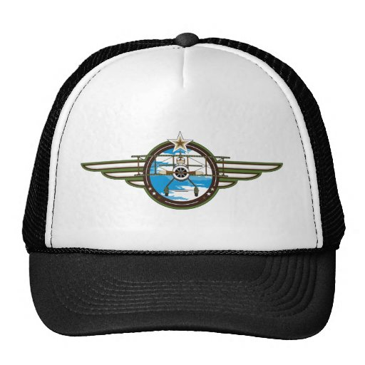 Cute Airforce Pilot and Biplane Hats