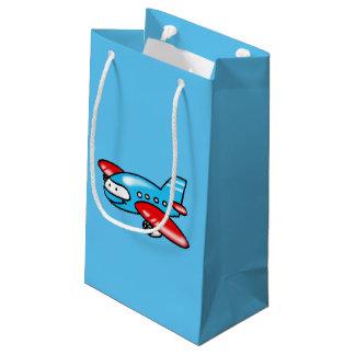 cute airplane cartoon small gift bag
