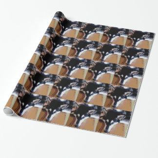 Cute Alaskan Malamute Face Wrapping Paper