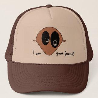 Cute Alien Face Trucker Hat