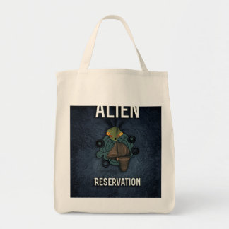 Cute Alien Reservation Style 2 Tote Bags