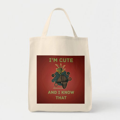 Cute Alien Reservation Style 3 Tote Bags
