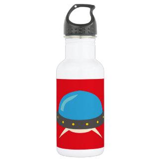 Cute Alien UFO Space Ship Unique Kids 532 Ml Water Bottle