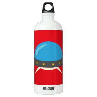 Cute Alien UFO Space Ship Unique Kids SIGG Traveller 1.0L Water Bottle