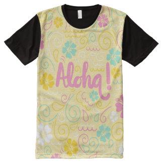 Cute aloha hawaiian colorful men's t-shirt All-Over print T-Shirt
