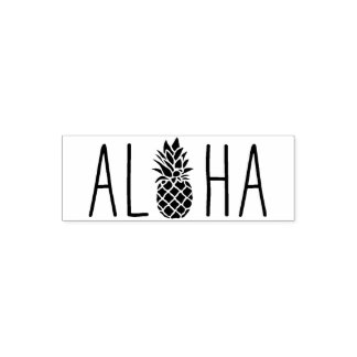 Cute Aloha rubber stamp, the perfect gift Self-inking Stamp