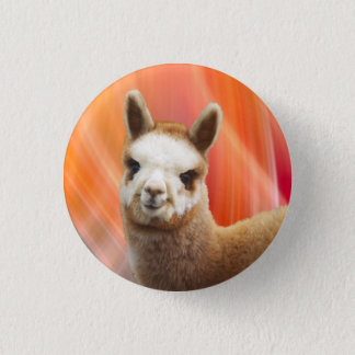Cute Alpaca Buttons