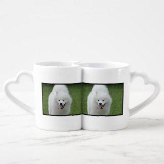 Cute American Eskimo Dog Couples Mug