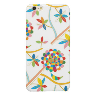 Cute and Artsy Colorful Leaf Abstract Pattern