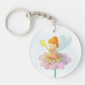 Cute and Colourful Fairy Key Ring