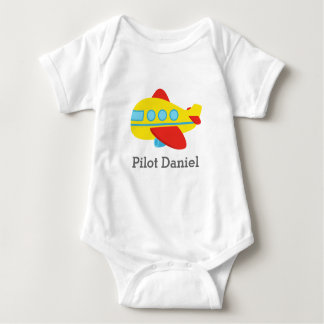 Cute and Colourful Passenger Aeroplane, Pilot T-shirts