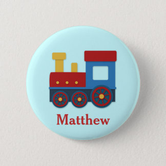 Cute and Colourful Train for Boys 6 Cm Round Badge