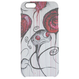 Cute and Creepy Creature Art iPhone 6+ Clear Case