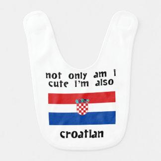 Cute And Croatian Bib