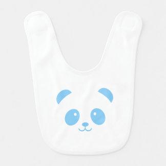 Cute and Cuddly Blue Panda Baby Bib