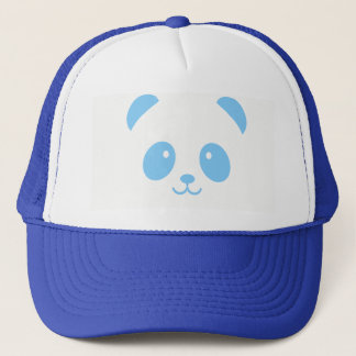 Cute and Cuddly Blue Panda Trucker Hat