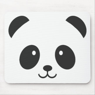 Cute and Cuddly Panda Mousepad