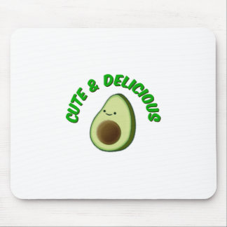 Cute And Delicious Avocado Mouse Pad