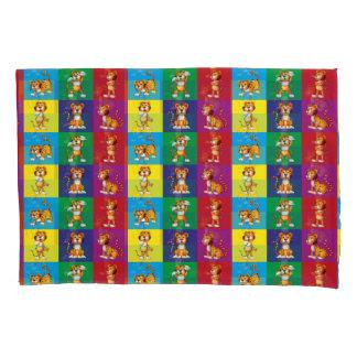 Cute And Fun Tiger Pattern Pillowcase