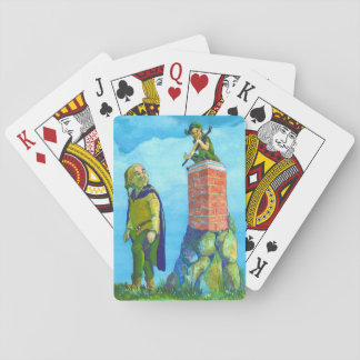 Cute and Funny Elf Designed Poker Playing Cards